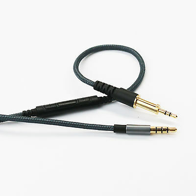 Cable Remote & Mic for AKG K450 K451 K452 K480 Q460 to iphone Samsung Android
