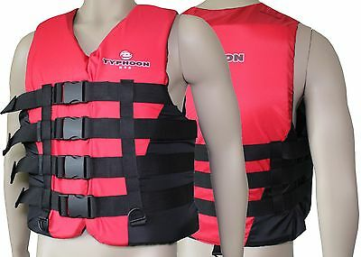 Typhoon XTS 50N Jetski Boat Wakeboard Waterski Impact Vest Buoyancy SUP Jacket