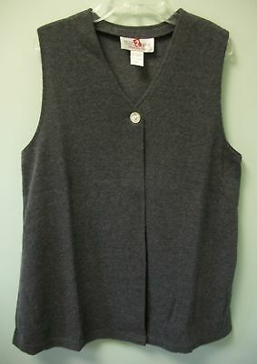 Zero 2 Nine womens vest gray cardigan sweater maternity  small  new lot of 3