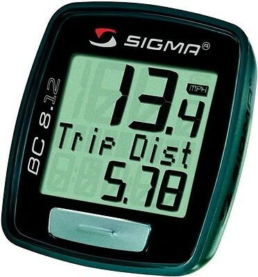 Sigma Sport BC8.12 8 Function Bicycle Computer