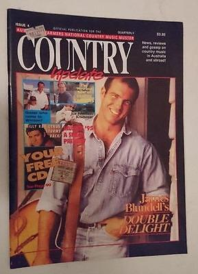 Country Update - Australian Country Music #4  May 1995  James Blundell