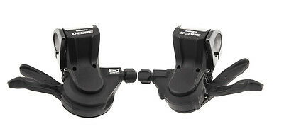 SHIMANO DEORE SL-M591 Dynasys 3 x 10 MTB Bicycle Bike Shifters Pair NEW