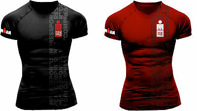 Compressport Running T-Shirt Ironman Smart Unisex Laufshirt Funktionsshirt IM