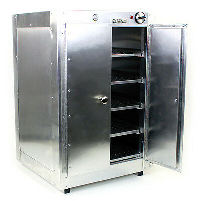 HeatMax Commercial Food Warmer Aluminum Countertop 19x19x29 Hot Box Cabinet