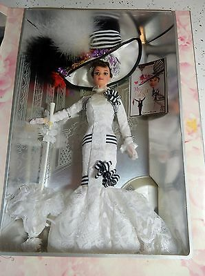 Barbie MY FAIR LADY  Eliza Day at the Races Dress Hollywood legends 1995 NRFB