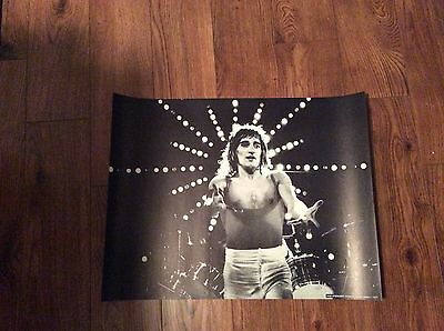 ROD STEWART (FACES): Vintage 1977 Poster, Approx 2 x 3', Dallas, Texas.