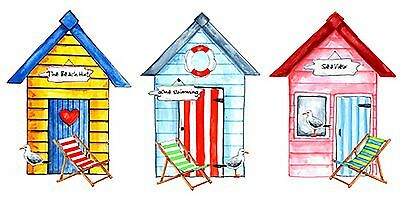 Beach Hut Select-A-Size Waterslide Ceramic Decals Bx