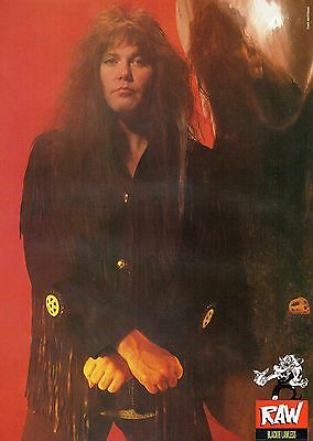 Blackie Lawless  W.A.S.P,      Mini Poster  ( MB 83)