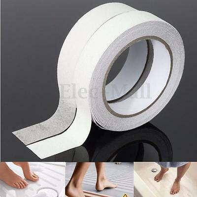 White Bath Shower Anti Slip Tape Non Slip Strips Grip Sticker Floor Safety Grit