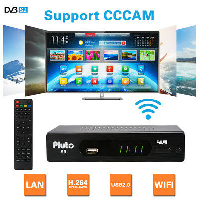 HOT Channel Box DVB-S/S2 Support CCCAM Satellite Receiver HD 1080P AH331