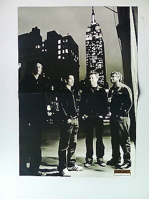 Anthony Kiedes   Sum 41     Double Sided  Poster ( LMA11)