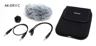 Tascam AK-DR11-C Accessory Kit for DR Series Recorders  Film Makers (NEW)
