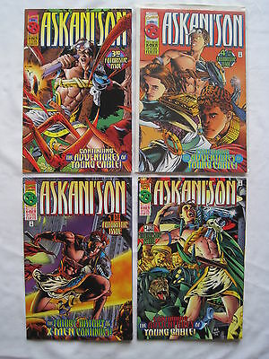 ASKANI'SON : COMPLETE 4 ISSUE SERIES by LOBDELL,HA.AGE OF APOCALYPSE.MARVEL.1996