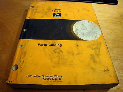 John deere 744e loader parts manual catalog book list pc2300 jd john deere 744e loader parts manual catalog book list pc2300 jd fandeluxe Image collections