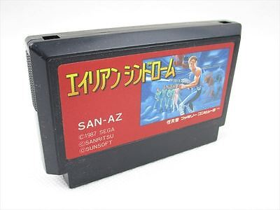 ALIEN SYNDROME Cartridge Only GOOD Condition Famicom Nintendo JAPAN Game fc