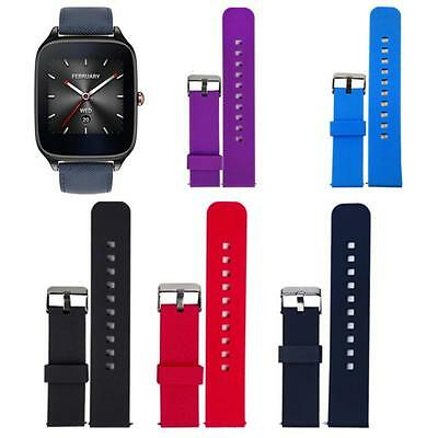 Luxury Sports Silicone Watch Band Strap Fitness for ASUS ZenWatch 2 Smart Watch