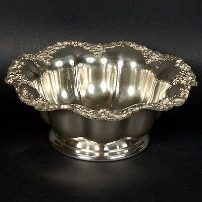 Vintage Wm. Rogers Grape & Vine Bowl - Eagle/wm. Rogers/star Hallmark