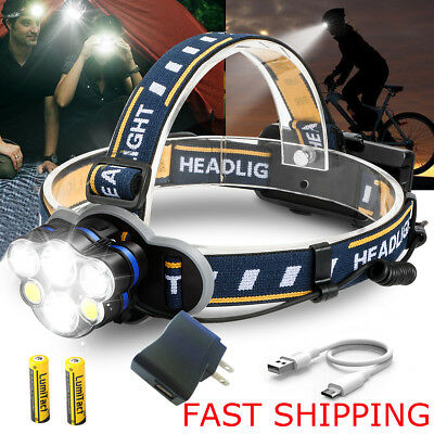 5000 Lumens X800 Flashlight LED Zoomable Military Torch ShadowHawk 18650 Battery