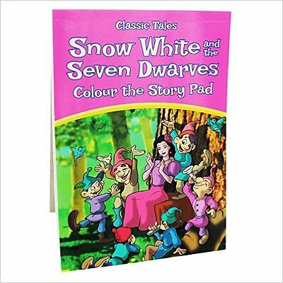 Snow White and the Seven Dwarves colour the Story Pad