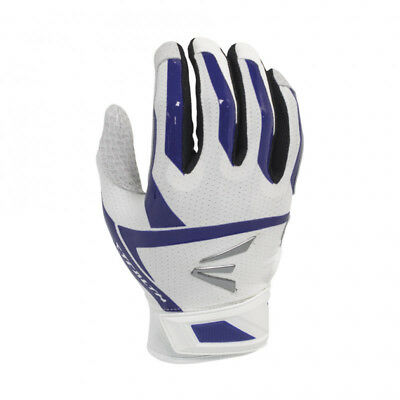2017 Easton Stealth Hyperskin Fastpitch Women's Batting Gloves NEW White/Purple