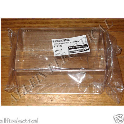 Fisher & Paykel Clear Plastic Butter Dish Lid - Part # FP871125, 871125