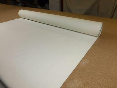 "Job Lot 10m rolls IVORY CREAM 54"" wide - THERMAL BLACKOUT CURTAIN LINING FABRIC"