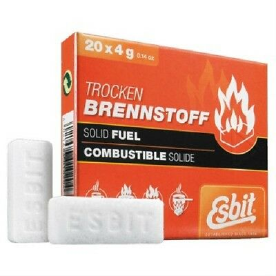 Esbit Solid Fuel Tablets 20X4G 00102000