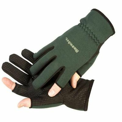 Snowbee Lightweight Neoprene Fishing Gloves Choose Size
