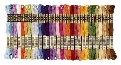 DMC Threads/Floss 1-50 skeins-PICK YOUR OWN COLOURS cross stitch POST FREE