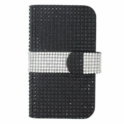 Universal PU Leather Wallet Card Holder Flip Case Cover Pouch For Mobile Phones
