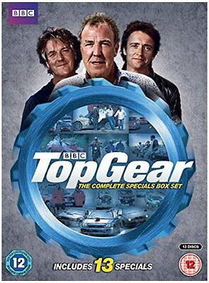 Top Gear - The Complete Specials Box Set [New DVD]