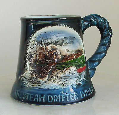 Great Yarmouth Pottery The Steam Drifter Lydia Eva Limited To 500