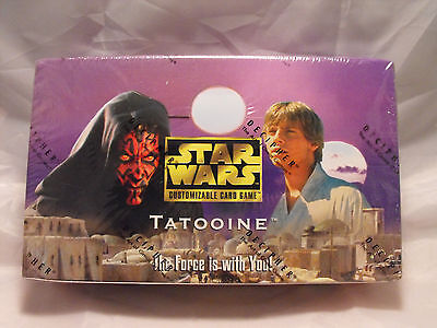 Star Wars Ccg Tatooine Black Border Sealed Booster Box Of 30 Packs