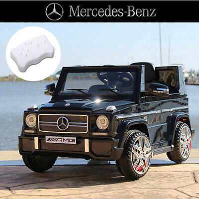 Licensed Mercedes Benz AMG G65 Kids Ride on Car With 2.4g remote controller blac