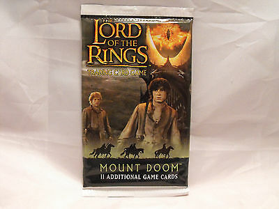 Lord Of The Rings Tcg Mount Doom Sealed Booster Pack Of 11 Cards