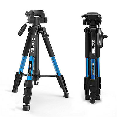 ZOMEI Q111 Professional Aluminium Tripod&Pan Head Travel Stand for DSLR Camera