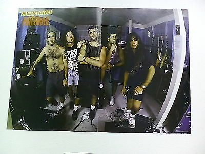Manowar      Anthrax       Double Sided     Poster (LMD16)