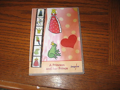 "Inspira Embroidery Designs ""A Princess and her Prince"" Multi Format CD"