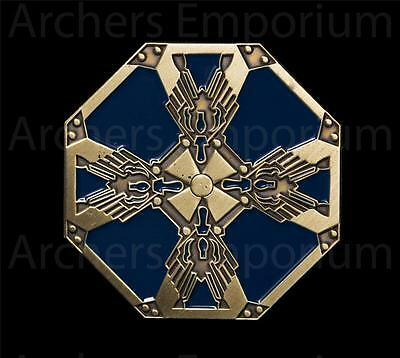 Dwarven Shield Collectors Pin Badge. Hobbit, LotR. Weta Collectables. New