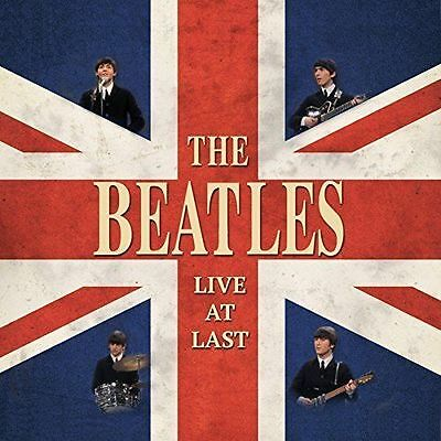 """The Beatles 'live At Last' 12"""" Red Lp Vinyl - Brand New"""