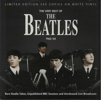 """THE BEATLES 'The Very Best Of 1962-64' 12"""" WHITE VINYL - BRAND NEW + SEALED"""