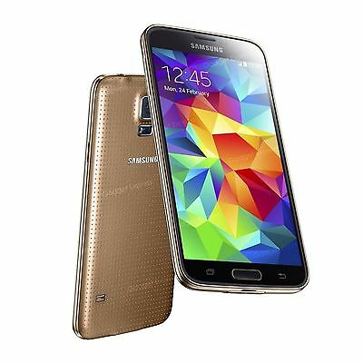 1:1 Scale Non-Working Dummy Display Toy Phone Fake Model for Galaxy S5 Gold
