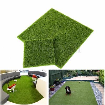 Artificial Grass Fake Lawn Turf Landscape Garden Ornament Dollhouse Craft Decor