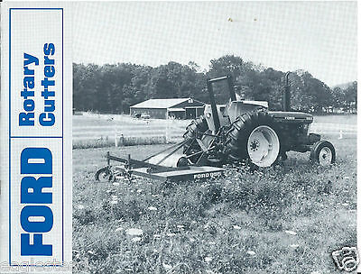 Farm Equipment Brochure - Ford - 951 et al - Rotary Cutters (F4351)