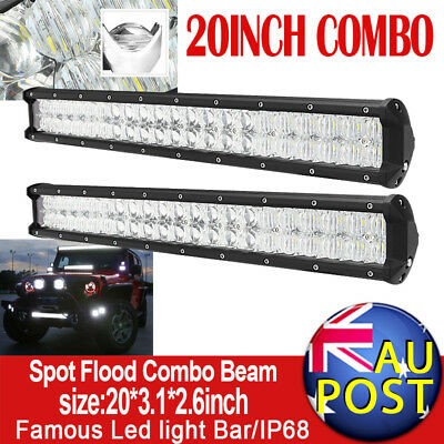52inch 700W PHILIPS Curved Spot&Flood LED Work Light Bar 4WD Offroad SUV Lamp