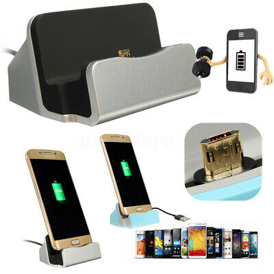 HOT Micro USB Charger Data Sync Dock Charging Cradle Desktop Stand Station Cable
