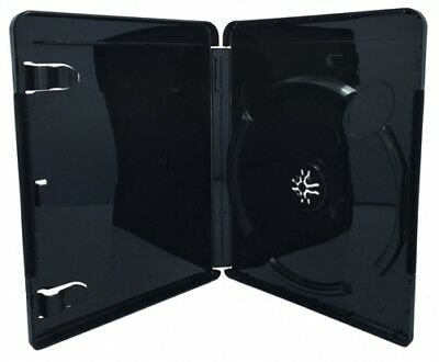 200 Black Playstation 3 Replacement Blu-ray Cases 14mm