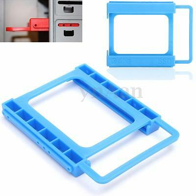 """2.5"""" Vers 3.5"""" SSD HDD Montage Adaptateur Holder PC Disque Dur Support Rack"""
