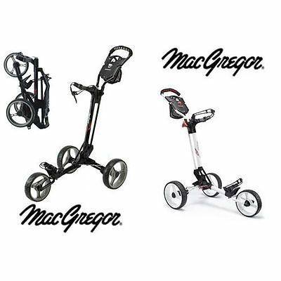 MacGregor Golf Trolley Concept 3, Quick Fold ,Compact, Lightweight Cart  NEW!