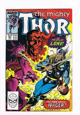 Thor # 401  The Wager ! grade - 9.0 scarce book !!